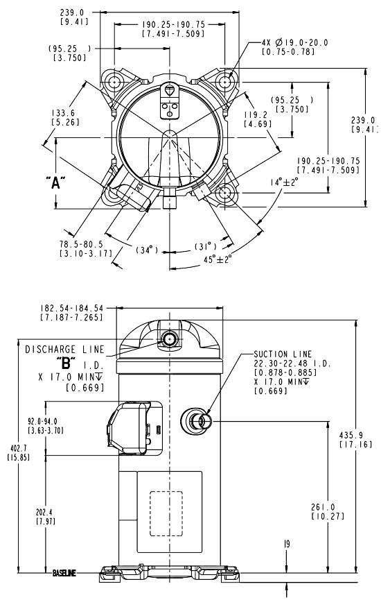 hlp2 - Компрессор Danfoss HLJ083