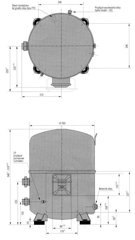 mt100 1 - Компрессор Danfoss MT125